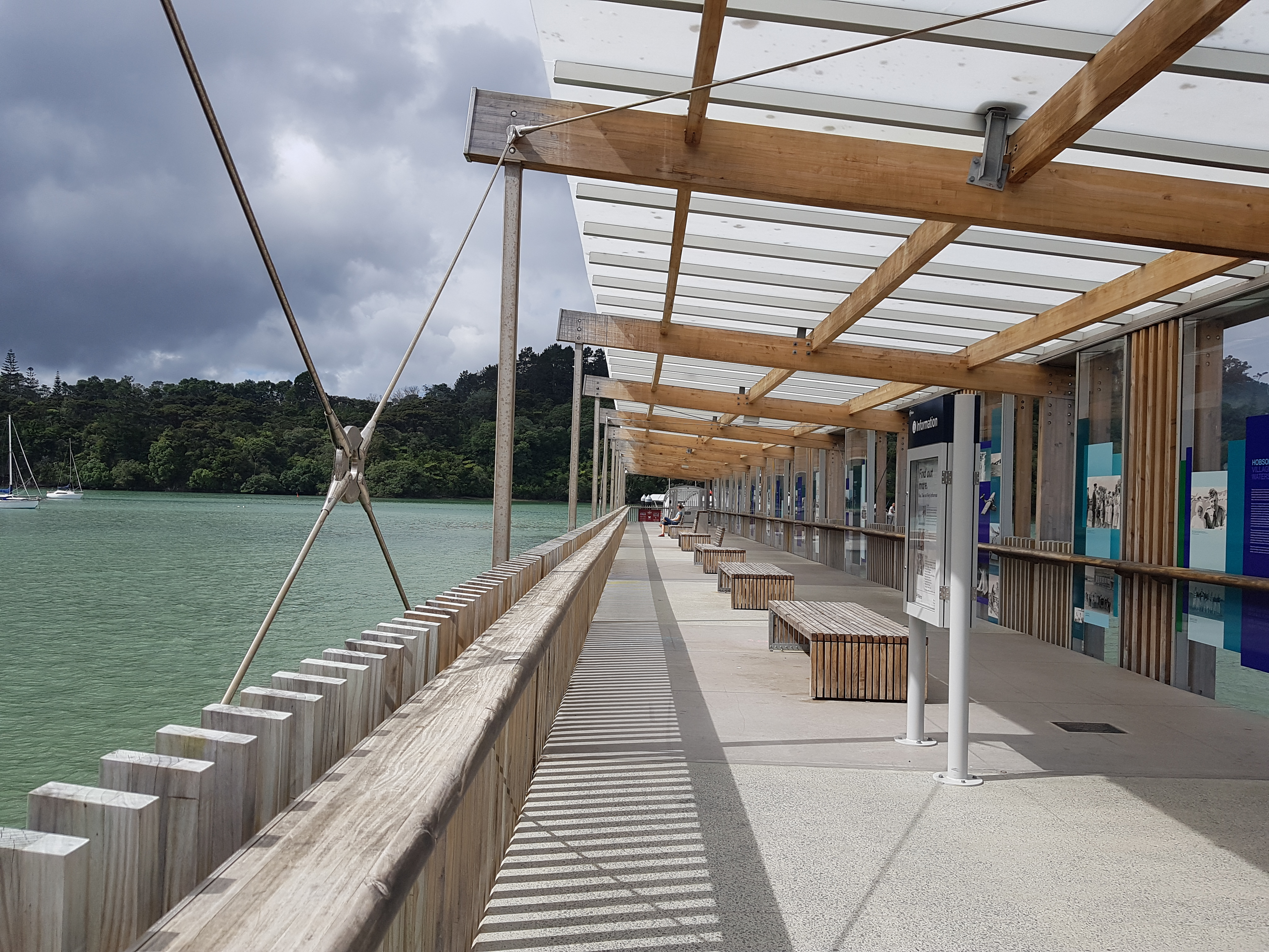 Hobsonville ferry building